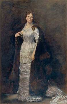Portrait of Countess Berta Vandal of artist Charles Emile Auguste Carolus-Duran, 227, Oil, Inv, Shot, Berta, Woman, Person, Origin
