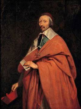 Richelieu / after Champaigne of artist Philippe de Champaigne as framed image
