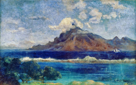 Whats New (Parau Api) by Paul Gauguin   Oil Painting