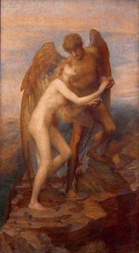 Love and Life of artist George Frederick Watts, 222, Vie, 1897, 19th, Pair, 1885, Love, Woman