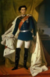Ferdinand Piloty - Louis II of Bavaria in Uniform