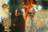Gustav Klimt - Schubert at the piano/Ptg by Klimt 1899