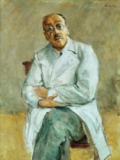 Max Liebermann - Portrait of surgeon Professor Ferdinand Sauerbruch