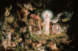 Sir Joseph Noel Paton - The row between Oberon and Titania.
