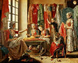 Antoine Raspal - Seamstresses' workshop