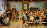 Albert Anker - The Village School
