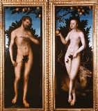 Lucas Cranach der Ältere - Adam and Eve