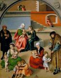 Lucas Cranach der Ältere - The Holy Family