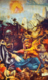 Mathis Gothart Grünewald - Temptation of St.Anthony /Isenheim Altar