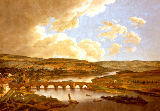 Ferdinand Kobell - The bridge over the Main near Aschaffenburg