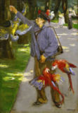 Max Liebermann - The parrotman
