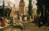Moritz Ludwig von Schwind - Walk at the City Gate