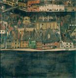 Egon Schiele - The Small Town