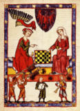 Buchmalerei Zürich - Otto IV of Brandenburg / Codex Manesse