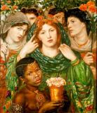 Dante Charles Gabriel Rossetti - The Beloved (The Bride)