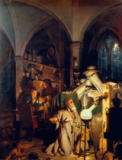 Joseph Wright of Derby - The Alchemist