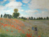 Claude Monet - Poppy field near Argenteuil