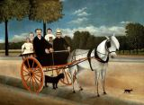 Henri J.F. Rousseau - Carriage of Pere Juniet