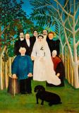Henri J.F. Rousseau - The wedding