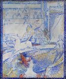 Georges Pierre Seurat - The circus, sketch