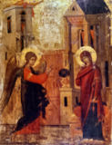 16. Jahrhundert - Annunciation to Mary / Icon