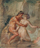 AKG Anonymous - Erotic scene / Pompeian / wall painting