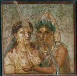 AKG Anonymous - Woman and Satyr / Pompeiian