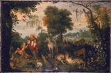 Frans Francken der Ältere - The Creation of Eve
