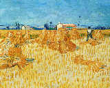 Vincent van Gogh - Harvest in Provence