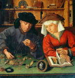 Quentin Massys - The Gold Merchant and his Wife