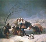 Francisco José de Goya y Lucientes - La nevada