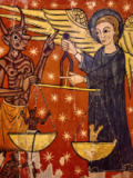 12. Jahrhundert - The Archangel Michael as Weigher of Souls