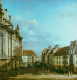 Bernardo Bellotto - The Frauenkirche in Dresden