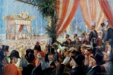 William Friedrich Georg Pape - Opening of the Suez Canal in the presence of crown prince Frederick William on 17th November 1869