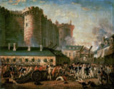 Französische Revolution - Storming of the Bastille /Paint./ C18th