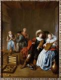 Dirck Hals - Music and card games