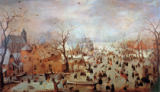 Hendrick Avercamp - Winter Landscape