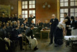 Pierre Andre Brouillet - A Clinical Lesson with Doctor Charcot at the Salpetriere, 1887