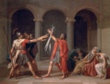 The Oath of the Horatii of Jacques-Louis David