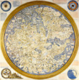 Andrea Bianco - Map of the World by Fra Mauro