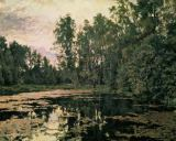 Valentin Alexandrowitsch Serow - V.Serov, Pond in Thicket