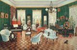 AKG Anonymous - Room in the country house of Count Dimitri Andreyevich Tolstoy in Snamenskaya, Woronesh