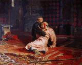 Ilya Efimovich Repin - Ivan the Terrible and his Son on the 16th November, 1581, 1885