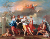 Nicolas Poussin - Dance to the Music of Time