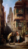 Carl Spitzweg - The Eternal Bridegroom