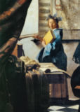 Jan Vermeer van Delft - The Art of Painting