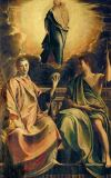 Francesco Parmigianino - Madonna w.Two Saints /Parmigianino/ C16