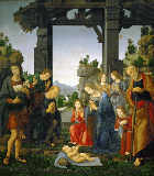 Lorenzo di Credi - Adoration of the Shepherds