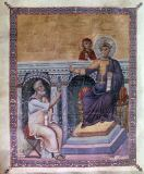 11. Jahrhundert - King Solomon / Byzantine book illus.