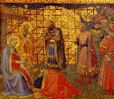 Fra Angelico - Annunciation / Adoration of the Kings